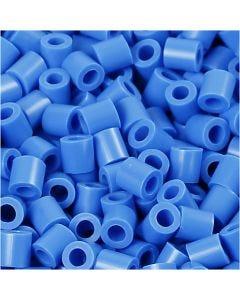 Fotoperlen, Größe 5x5 mm, Lochgröße 2,5 mm, Blau (17), 6000 Stck./ 1 Pck.