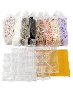 Fotoperlen-Set, Sortierte Farben, 1 Set