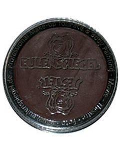 Eulenspiegel Gesichtsschminke, Dunkelbraun, 20 ml/ 1 Pck.