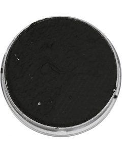 Eulenspiegel Gesichtsschminke, Schwarz, 3,5 ml/ 1 Pck.