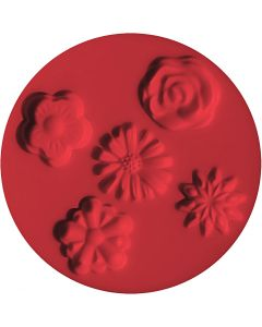 FIMO® Motiv-Formen, Blumen, D: 7 cm, 1 Stck.