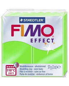 FIMO® Effect , Neongrün, 57 g/ 1 Pck.