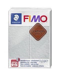FIMO® Leder-Effekt, Taubengrau (809), 57 g/ 1 Pck.