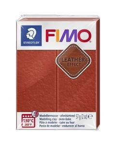 FIMO® Leder-Effekt, Rost (749), 57 g/ 1 Pck.