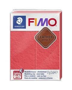 FIMO® Leder-Effekt, Wassermelone (249), 57 g/ 1 Pck.