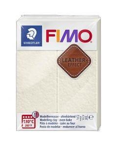 FIMO® Leder-Effekt, Elfenbein (029), 57 g/ 1 Pck.