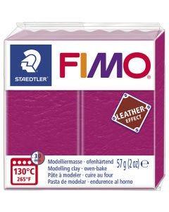 FIMO® Leder-Effekt, Beere (229), 57 g/ 1 Pck.