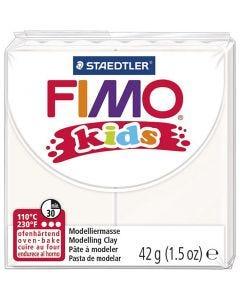 FIMO® Kids Clay, Weiß, 42 g/ 1 Pck.