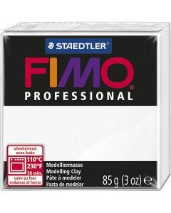 FIMO® Professional Jewellery Clay, Weiß, 85 g/ 1 Pck.