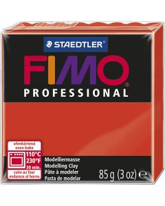 FIMO® Professional Jewellery Clay, Rot, 85 g/ 1 Pck.