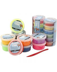 Foam Clay® , Sortierte Farben, 22 Dose/ 1 Set