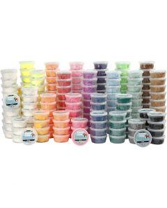 Foam Clay® , Sortierte Farben, 22x10 Dose/ 1 Pck.