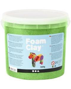 Foam Clay® , Metallisch , Grün, 560 g/ 1 Eimer