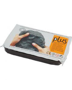 Selbsthärtender Ton, Schwarz, 1000 g/ 1 Pck.