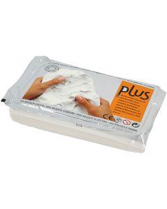 Selbsthärtender Ton, Weiß, 1000 g/ 1 Pck.