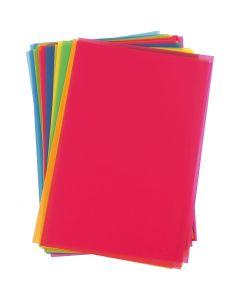 Plastik-Schrumpffolienplatten, 100 Bl./ 1 Pck.