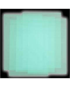 Plastik-Schrumpffolienplatten, 50 Bl./ 1 Pck.