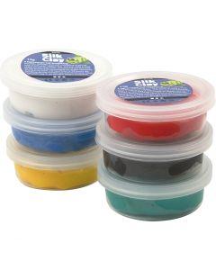 Silk Clay®, Standard-Farben, 6x14 g/ 1 Pck.