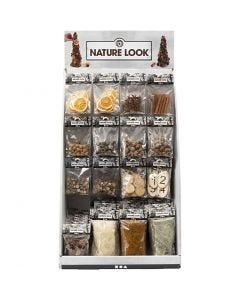 Tisch-Display - Naturmaterial, H: 7400 mm, B: 4400 mm, 120 Teile/ 1 Pck.