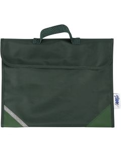 Schultasche, Größe 36x29 cm, Grün, 1 Stck.