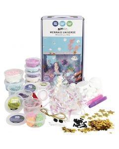 Meerjungfrauen-Welt - Materialset, 1 Set/ 1 Schachtel