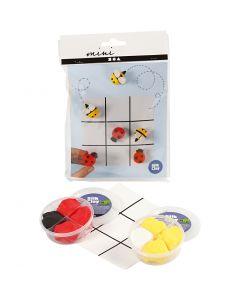 Mini-Kreativ-Set, Tic Tac Toe, 1 Set