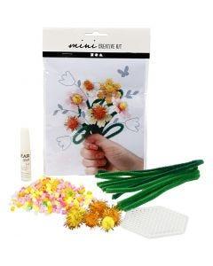 Mini-Kreativset, Blumen, 1 Set