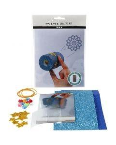 Mini-Kreativ-Set, WC-Papierrollen-Kaleidoskop, 1 Set