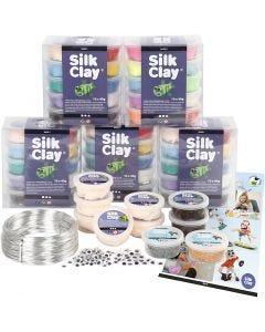 Silk Clay® - Figuren-Set für Schulklassen, 1 Set