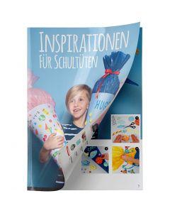 Schultüten inspiration folder, 1 Stck.