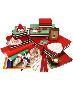Riesen-Weihnachtsbastel-Paket, Sortierte Farben, 1 Set