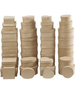 Dosen, H: 5-7,5 cm, D: 10-18 cm, 72 Stck./ 1 Box