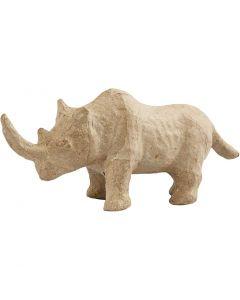 Rhinozeros, H: 7,5 cm, L: 18 cm, 1 Stck.