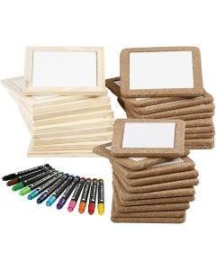 Untersetzer - Set, Standard-Farben, Zusätzliche Farben, 1 Set, 30 Stck.