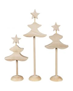 Weihnachtsbaum, H: 26 cm, 3x2 Stck./ 1 Pck.