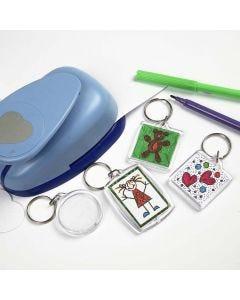 Schlüsselanhänger aus Plastik