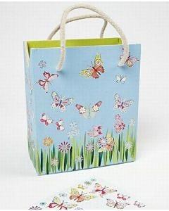Phantasievolle Aufkleber - Schmetterlinge