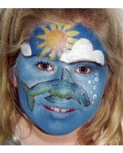 Wasserschminke Farbpalette