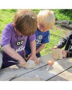 Basteln mit Speckstein für Kinder