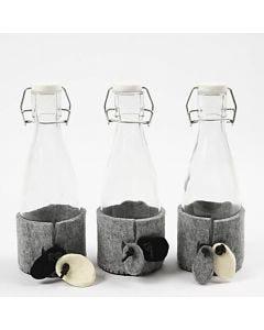 Flaschenwärmer aus Filz
