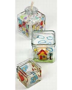 Glas- und Porzellanmalstifte mit Glitter