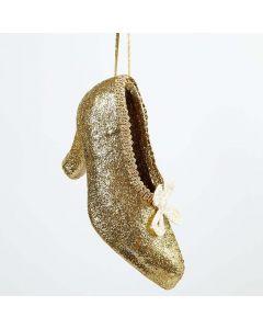 Weihnachtsdekoration mit Glitter