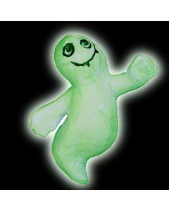 Leuchtende Pappmaché-Geister