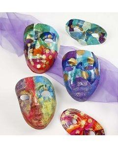 """Masken verziert im Stil """"Rio de Janeiro"""""""