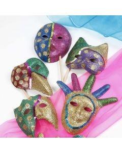 "Masken im Stil ""Karneval in Rio"""