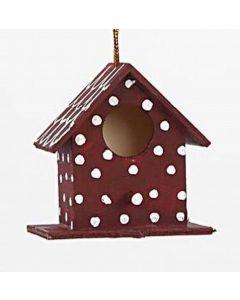 Vogelhaus mit Stoffdach