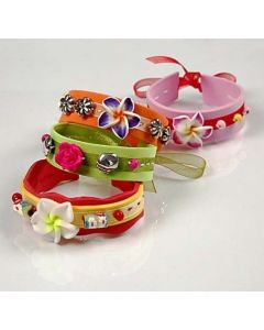 Armbänder aus Moosgummi