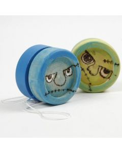 Yo-Yo und Springseil mit eingebrannter Deko