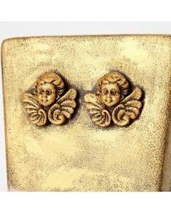 Blumentopf-Gestaltung mit dem Metall-Glanzwachs Inka-Gold