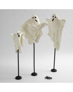 Leuchtende Gespenster aus Silk Clay